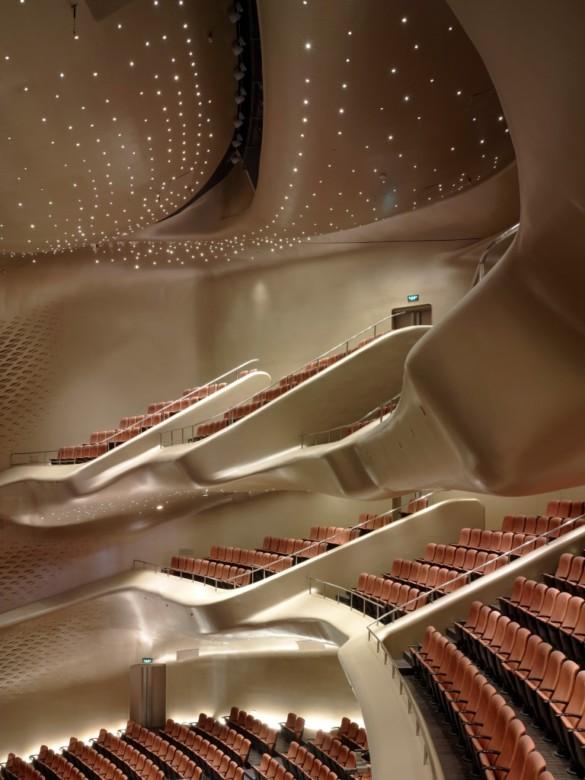 Guangzhou opera house | Christian Richters | Zaha Hadid Architects | Projects