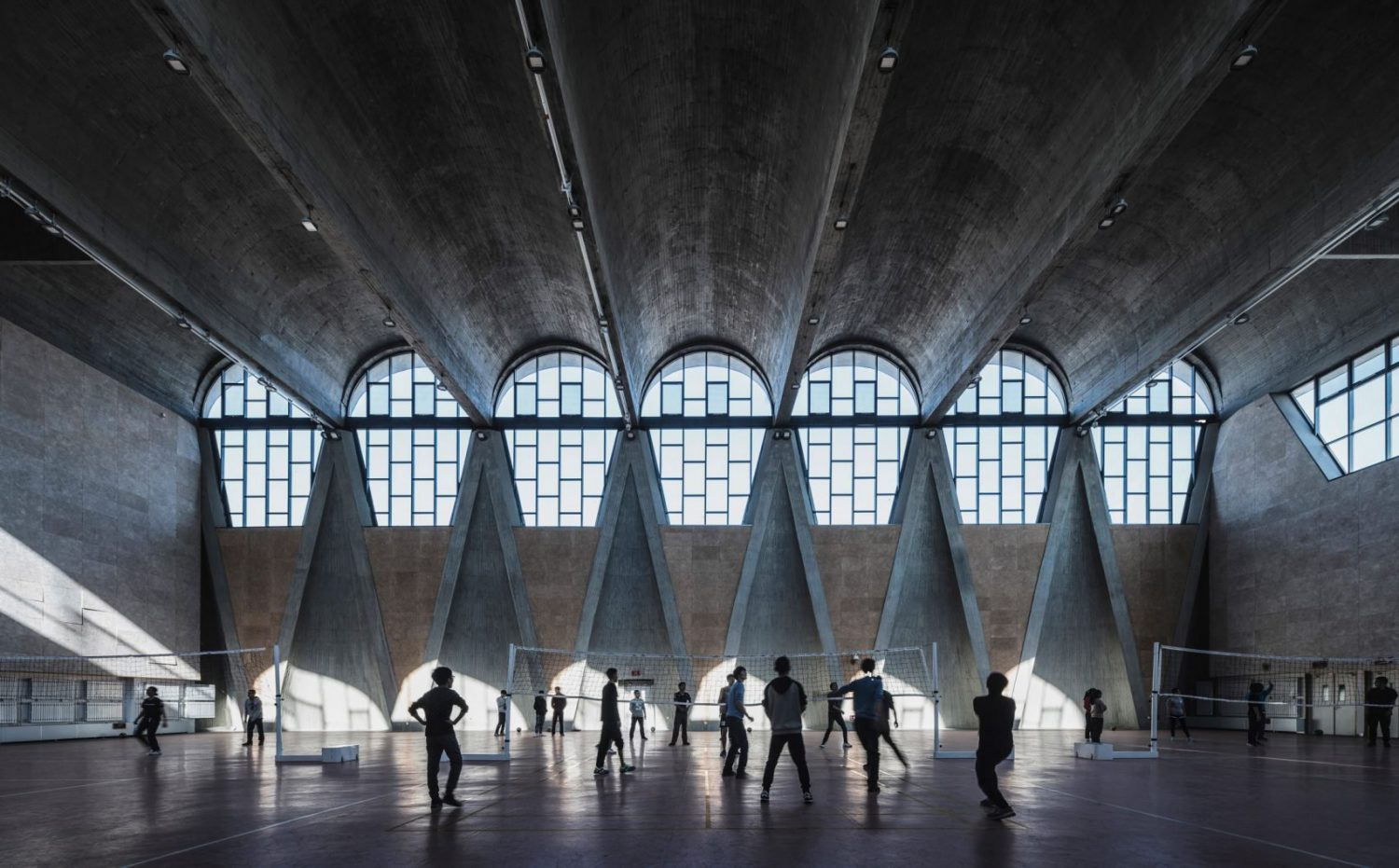 Arcaid | Photograph of the year | Shortlist | IGS mag | Sense of place | Arcaid | Photograph of the year | Shortlst | IGS mag | Sense of Place | Gymnasium of the New Campus of Tianjin University | Terrence Zhang
