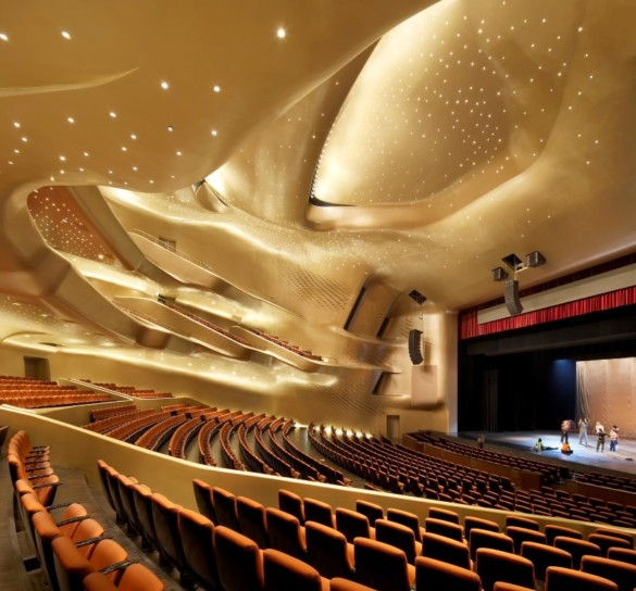 Zaha Hadid Architects | Opera House | Interior | Architecture