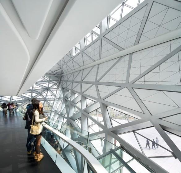 Zaha Hadid Architects | Opera House | Interior | Balcony