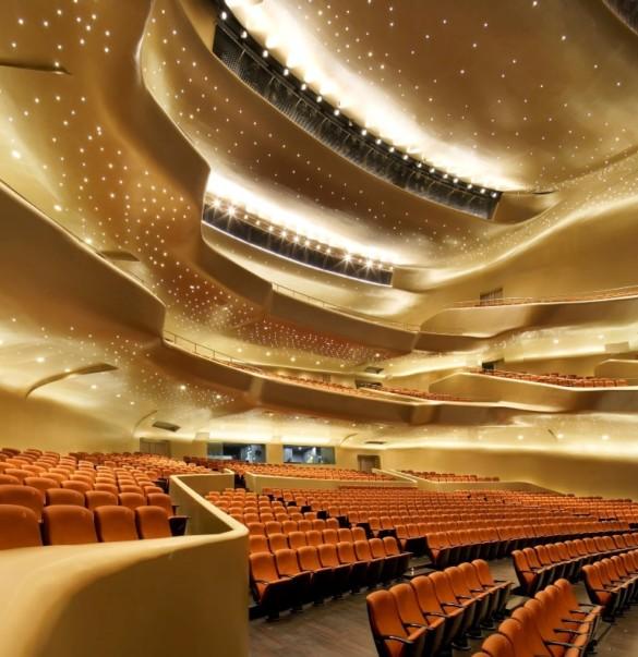 Zaha Hadid Architects | Opera House | Interior | Opera House