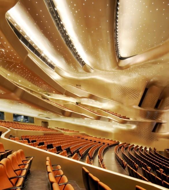 Zaha Hadid Architects | Opera House | Interior | Opera House | Hufton + Crow