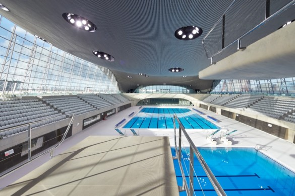 London Aquatics Centre | Zaha Hadid Architects | IGS Magazine | Interior design