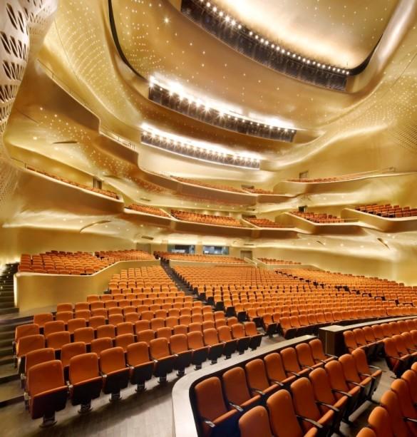 Zaha Hadid Architects | Opera House | Interior | Opera House | Seating area