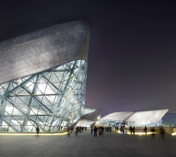 guangzhou opera house | Zaha Hadid Architects | IGS Mag | photography | Hufton and Crow | Architectural photography