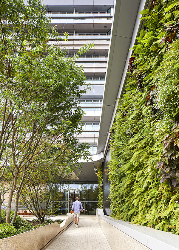 The Canaletto Tower | London | UNstudio | IGS Mag | Garden | Exterior