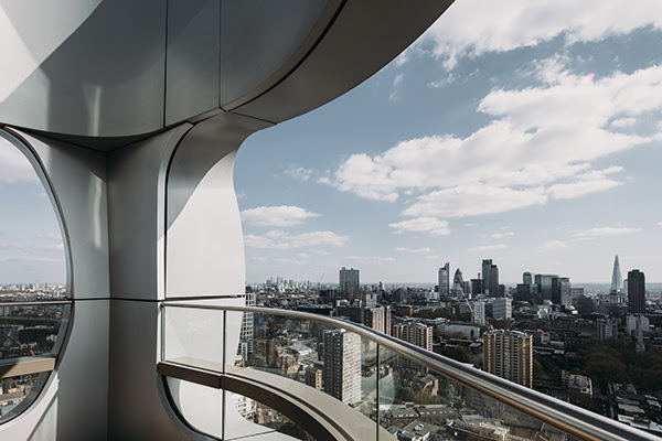 The Canaletto Tower | London | UNstudio | IGS Mag | Balconies | Glass facades