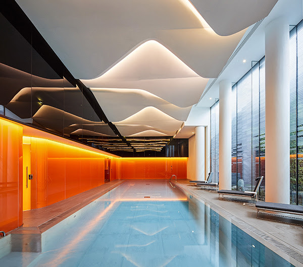 The Canaletto Tower | London | UNstudio | IGS Mag | Indoor Swimming pool