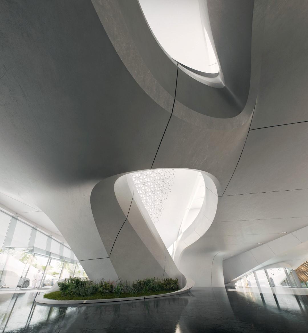 Bee'ah HQ_interior | Zaha Hadid | IGS Mag | Glass Facades