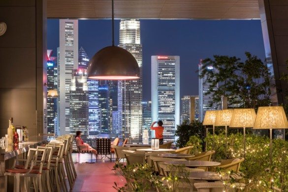 South Beach | Singapore | Foster + Partners | IGS Magazine | Night Shot