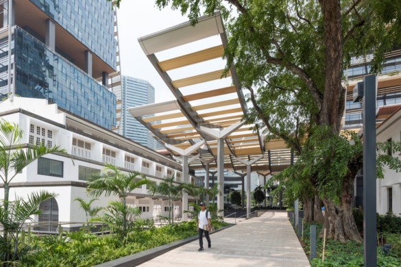 South Beach | Singapore | Foster + Partners | IGS Magazine | Walkway