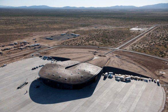 Spaceport America | New Mexico | Virgin Galactic | IGS Magazine | Rooftop view