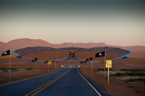 Spaceport America | New Mexico | Virgin Galactic | IGS Magazine | Road
