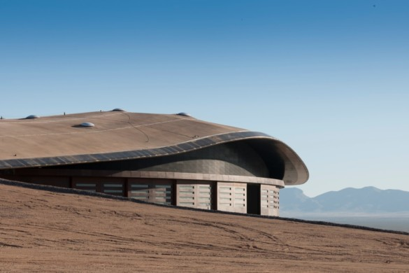 Spaceport America | New Mexico | Virgin Galactic | IGS Magazine | Facade Detail
