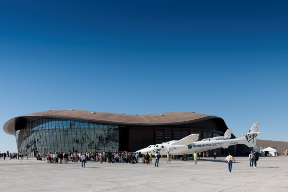 Spaceport America | New Mexico | Virgin Galactic | IGS Magazine | Glass | Architecture