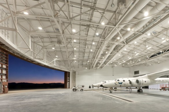 Spaceport America | New Mexico | Virgin Galactic | IGS Magazine | Glass | Interior