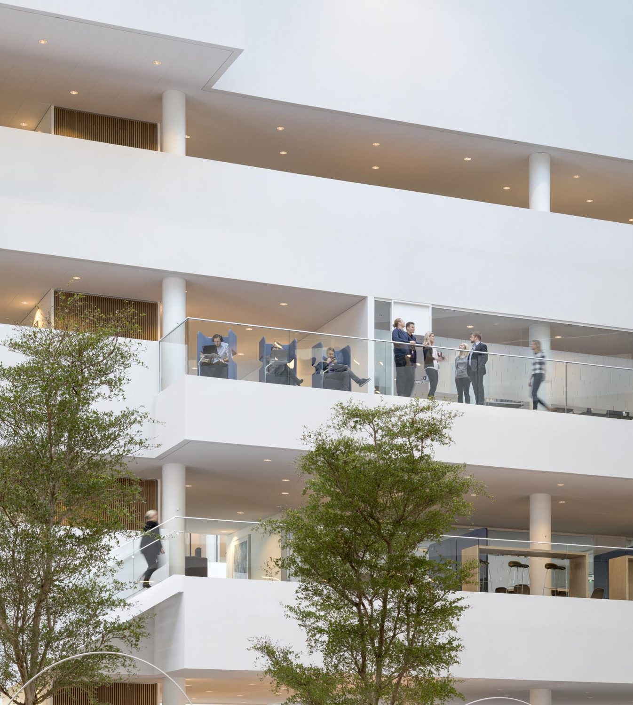 Nordea HQ   Copenhagen   Bank   Henning Larsen   IGS Magazine   Atrium