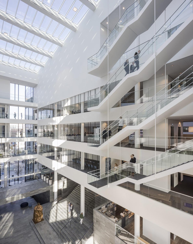 Nordea HQ   Copenhagen   Bank   Henning Larsen   IGS Magazine   Interior