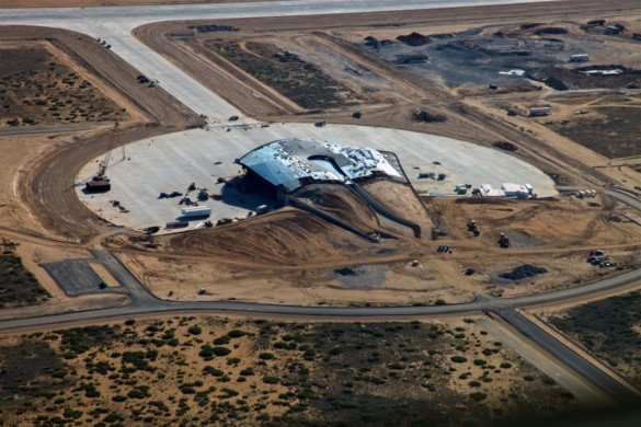 Spaceport America | New Mexico | Virgin Galactic | IGS Magazine | aerial view