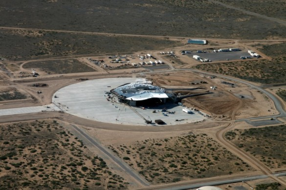 Spaceport America | New Mexico | Virgin Galactic | IGS Magazine | Construction