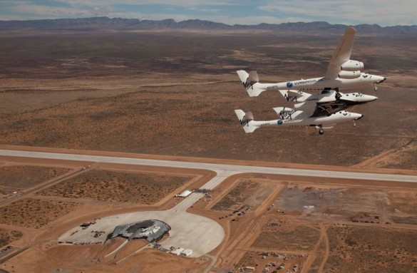 Spaceport America | New Mexico | Virgin Galactic | IGS Magazine | First Flight