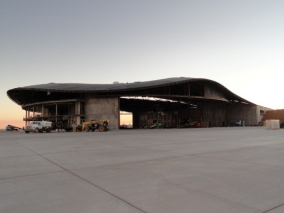 Spaceport America | New Mexico | Virgin Galactic | IGS Magazine | construction | hanger