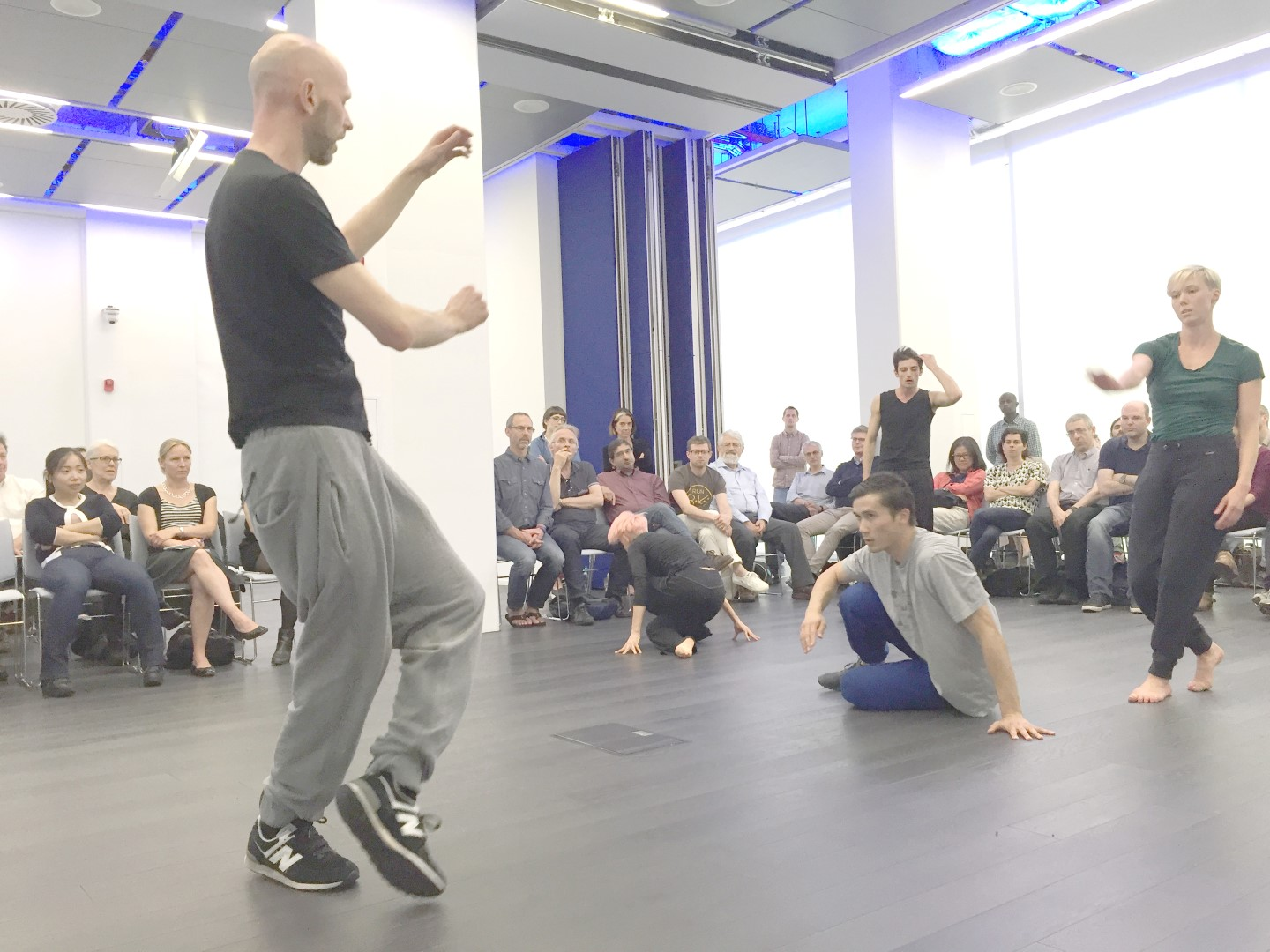 Sainsbury Wellcome Centre Wayne McGregor Artist in Residence at SWC (c) Ian Ritchie Architects