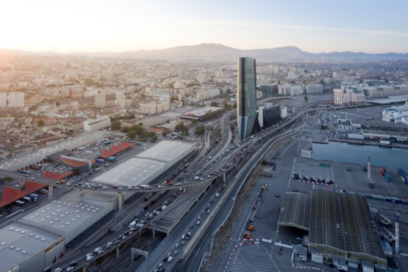 CMA CGM Tower | France | Photography | IGS Mag | Architectural photography | Drone