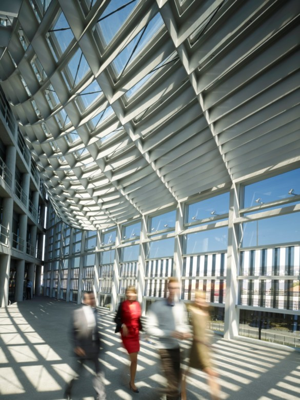 CMA CGM Tower | France | Photography | IGS Mag | Walkway