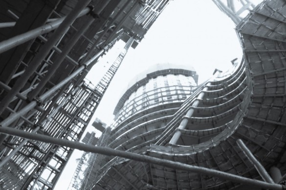Leeza Soho | Dusk | Construction | Zaha Hadid Architects | Projects