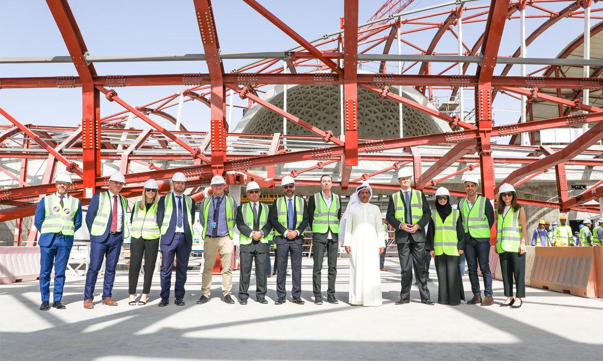 Bee'ah Headquarters | IGS Mag | Zaha Hadid Architects | Opening Ceremony