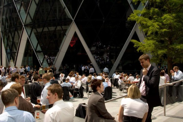 The Gherkin restaurant | IGS Magazine | Foster + Partners