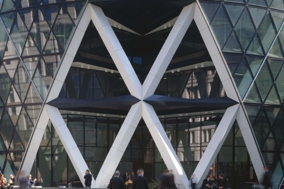 The Gherkin Entrance | IGS Magazine | Foster + Partners