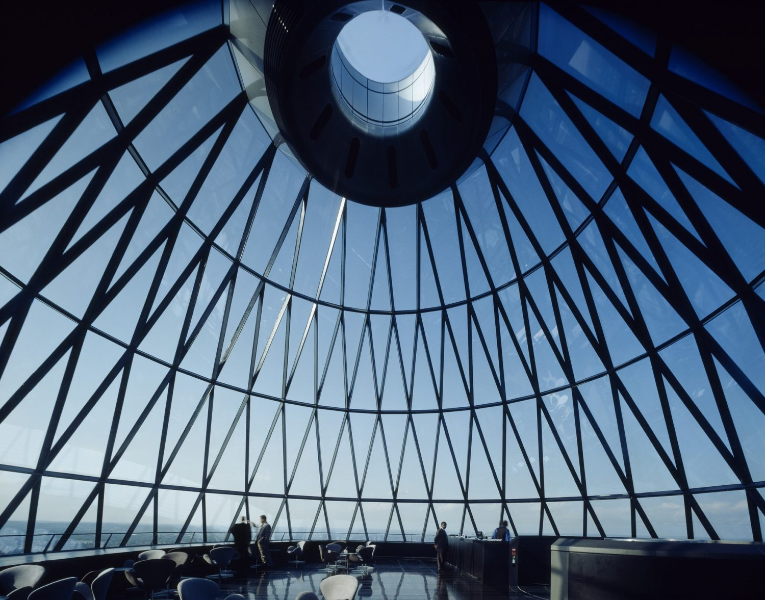 30 st mary axe The Gherkin IGS Magazine Roof Glass
