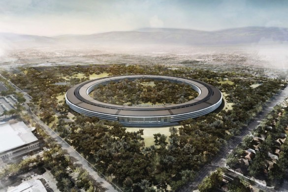 Apple Headquarters. Courtesy of Foster + Partners