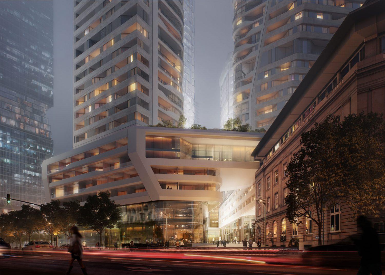 Four Frankfurt - UN Studio - HPP Architects - Glass Facade - 5