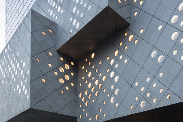 Guardian Art Center in Beijing-Büro Ole Scheeren-IGS Magazine-Facade-4