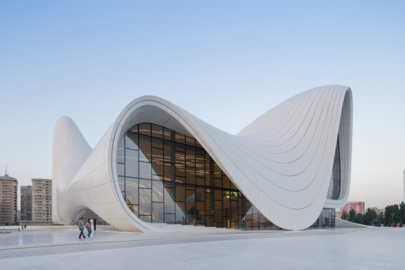 Heydar Aliyev Center- Zaha Hadid Architects- Iwan Baan