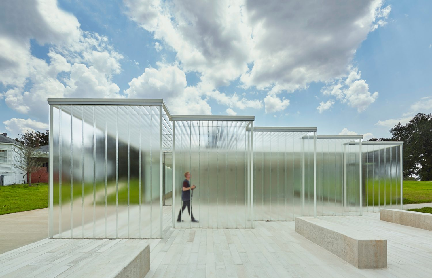 Magnolia Mound Visitors Center-Trahan Architects-IGS Magazine-Permeable Facades