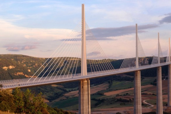 Millau Viaduct. Courtesy of Foster + Partners