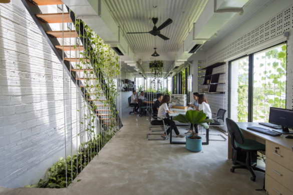 The Modern Village Office-Ho Khue Architects-IGS Magazine-Permeable facades-4