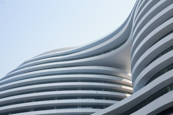 Wangjing SOHO; Beijing, China - Zaha Hadid Architects - Iwan Baan