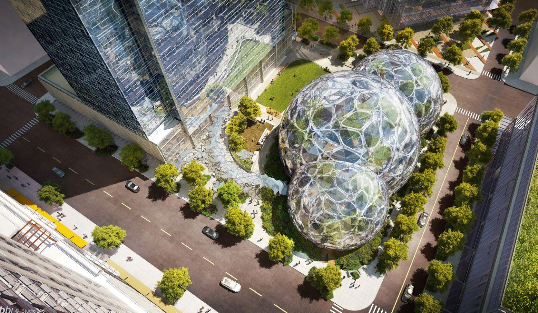 botanical biospheres Amazon HQ - Seattle - IGS Magazine - cover image