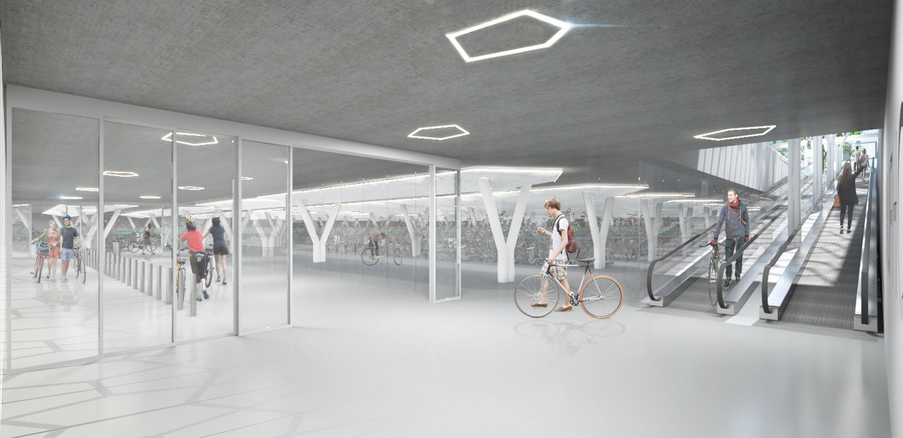 Octatube bicycle parking in amsterdam - press release - IGS Magazine - 6