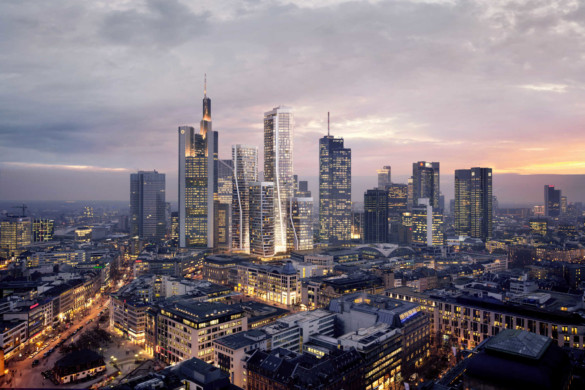 Four Frankfurt - UN Studio - HPP Architects - Cover Image