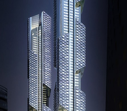 Dancing Dragon Towers, Seoul, Adrian Smith and Gordon Gill Architects, IGS Magazine,7