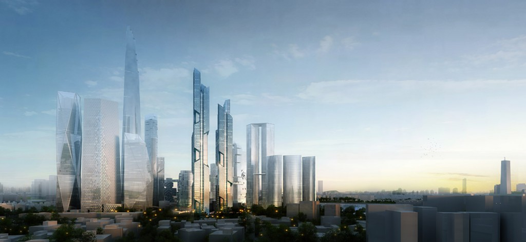 Dancing Dragon Towers, Seoul, Adrian Smith and Gordon Gill Architects, IGS Magazine,9