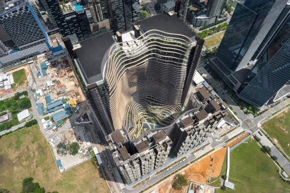 Green Heart – Marina One Singapore - Ingenhoven Architects - Singapore - 11