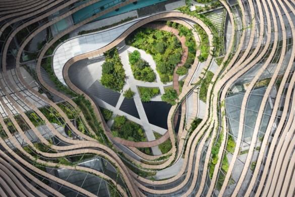 Green Heart – Marina One Singapore - Ingenhoven Architects - Singapore - 3