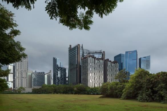 Green Heart – Marina One Singapore - Ingenhoven Architects - Singapore - 4